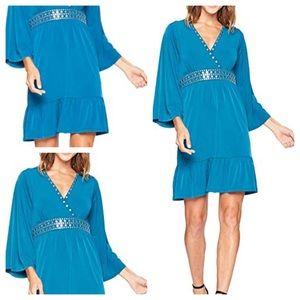 Michael Kors Teal Studded Dress